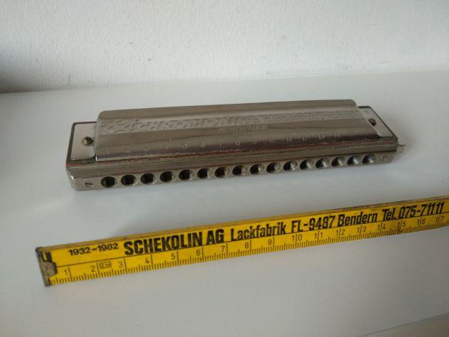 Armonica Hohner 64 Chromonica 4 Chromatic Octaves Pro 280/64 c - Foto 5