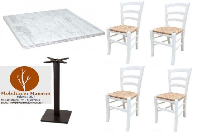 Set completo cod 113 Tavoli e sedie ristoranti nuovi - Annunci Torino
