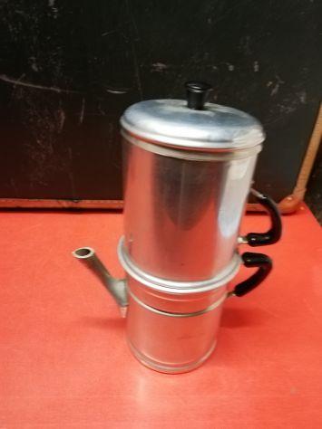 Vendesi  Caffettiera napoletana alluminio media originale anni '50