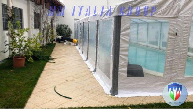 Tendoni per feste 6 x 12 velcro sistem, combisize, tetto cristal - Foto 2