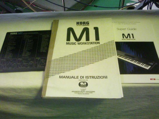 MANUALI KORG M1 T3 I3 2 TR. I3 2 WAVEST.ROLAND 1080 XP50 JV50 JV2080 + Basi