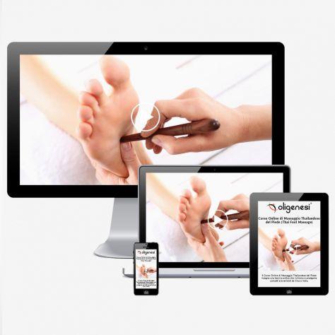 Video Corso Online di Massaggio Thailandese del Piede  Thai Foot Massage