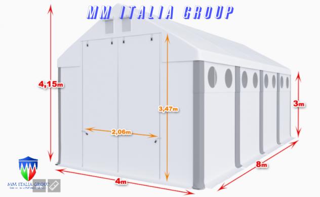 BOX CAMPER  4 X 8 ChiaraLuce CamperObló Professionali Pvc - Foto 5
