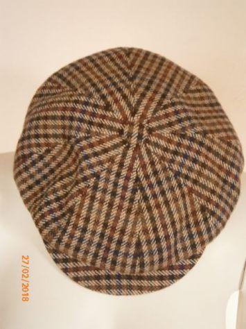 Berretto irlandese Doria mai usato tg.57  90% cachemire 10% lana