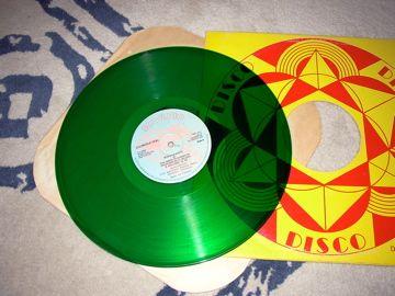 Disco mix rap 80 = buggs b skate = green vynil