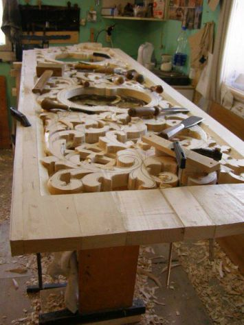 Intaglio e restauro scultoreo in legno - Foto 2