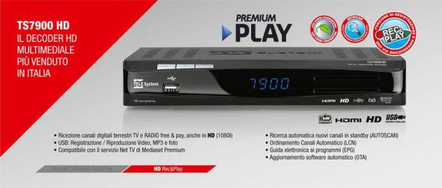 Ricevitore digitale terrestre Telesystem  TS 7900 HD