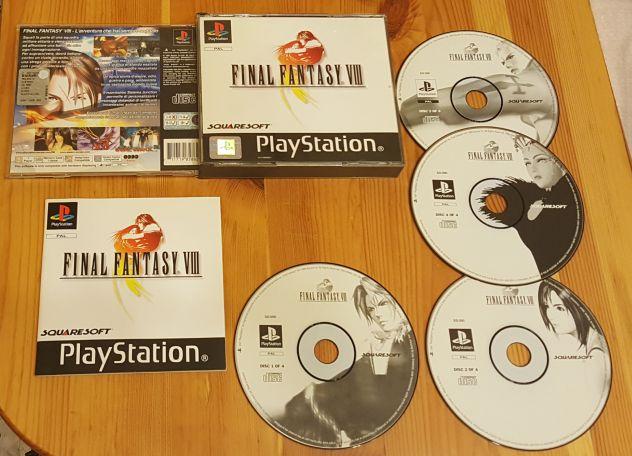 PS1 final fantasy XIII 8 ITA Playstation 1 Gioco Game