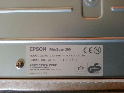 Epson FilmScan 200 Scanner fotografico
