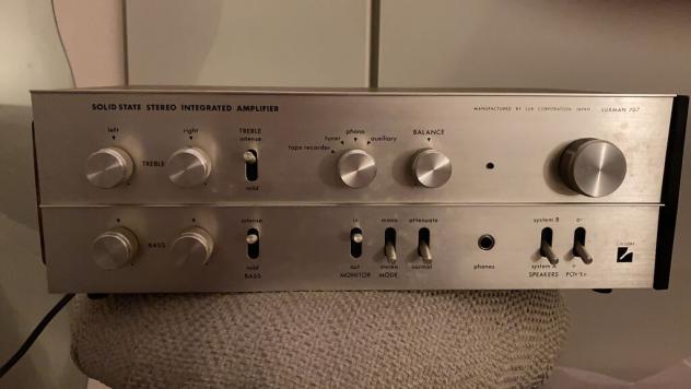 Luxman amplificatore 707 Usato