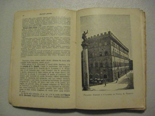 GRAZIOSA PICCOLA GUIDA ARTISTICA DI FIRENZE DEL 1933 - Foto 4
