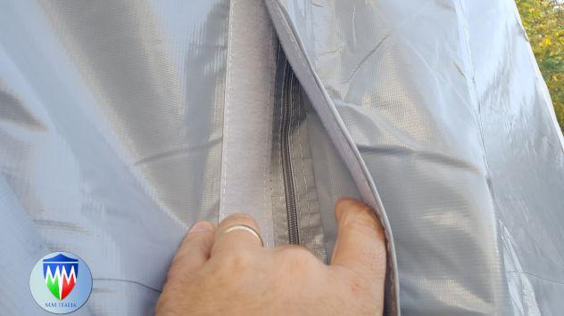 Tendostrutture Professionali Pvc alta densitá 6 x 12 con Velcro e Luce Naturale - Foto 3
