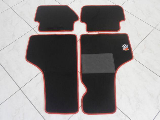 Fiat 500 L R  Fiat 126 tappetini logo Giannini varie colorazioni NUOVI