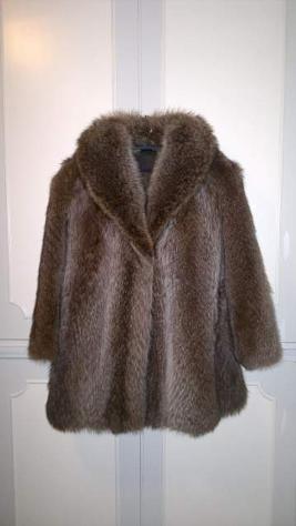 Pelliccia in Marmotta taglia 46
