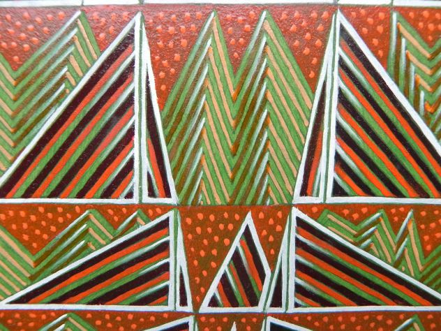 Dipinto ad olio su carta, astratto - Foto 7
