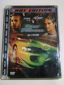 DVD Fast and Furious Hot Edition