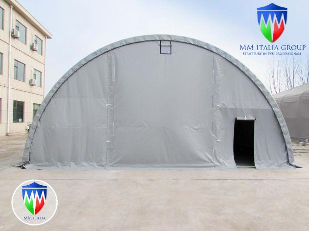 Agritunnel tunnel agricoli 9,15 x 12 x 4,5 professionali MM diam. Ø 76 - Foto 4