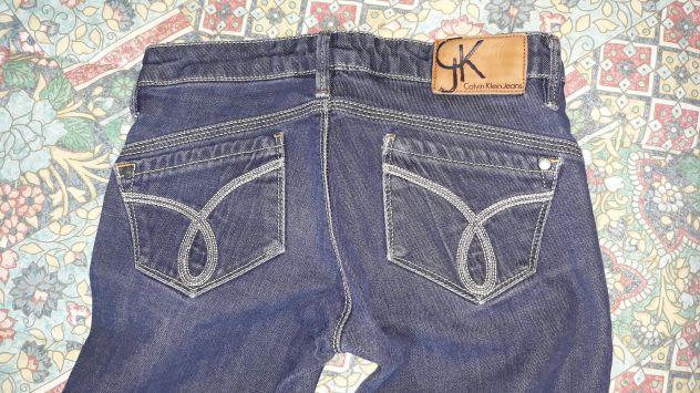 Jeans originali donna Calvin Klein taglia 25 e 26
