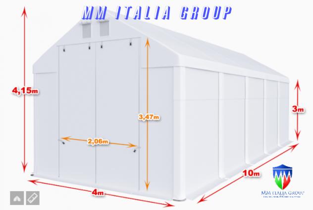 Tendoni Coperture Tunnel  per camper roulotte 4 x 10 MM Italia - Foto 3
