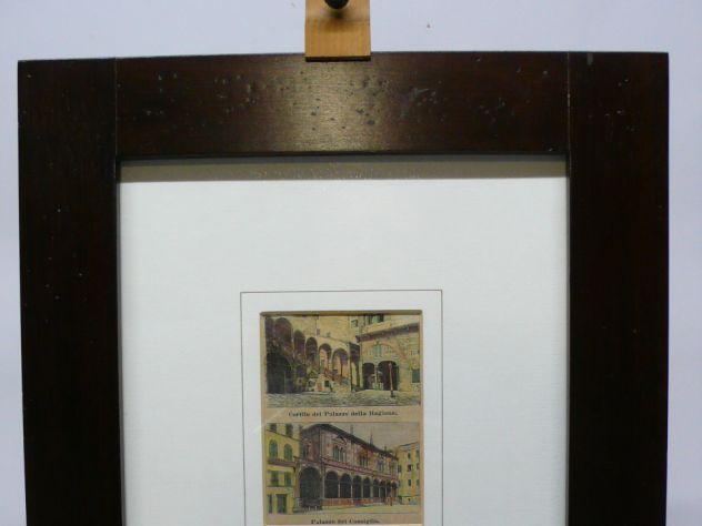 Palazzo del Consiglio quadro vecchia verona epoca noce 800'