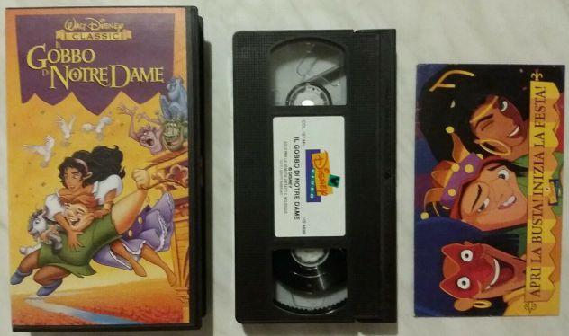VHS IL GOBBO DI NOTRE DAME WALT DISNEY I CLASSICI VIDEOCASSETTA + LA BUSTA 1997