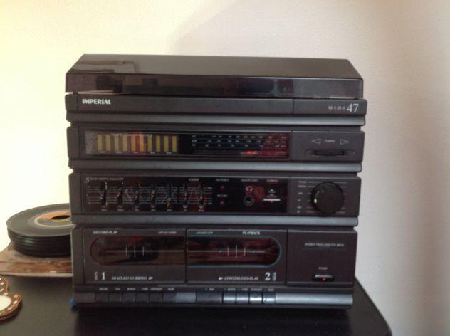 Impianto Stereo Vintage 33/45 giri anni '90