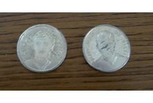 2 monete calciatori 70-80