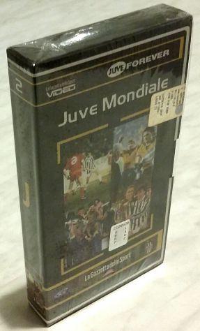 Videocassetta Juve Mondiale 2 La Gazzetta dello Sport Juve forever nuova celloph