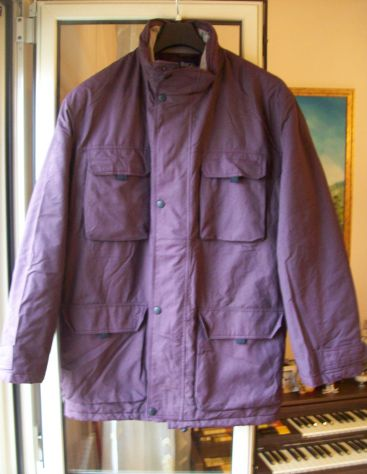 Giubbotto giaccone giacca vento firmato Bucalo XL