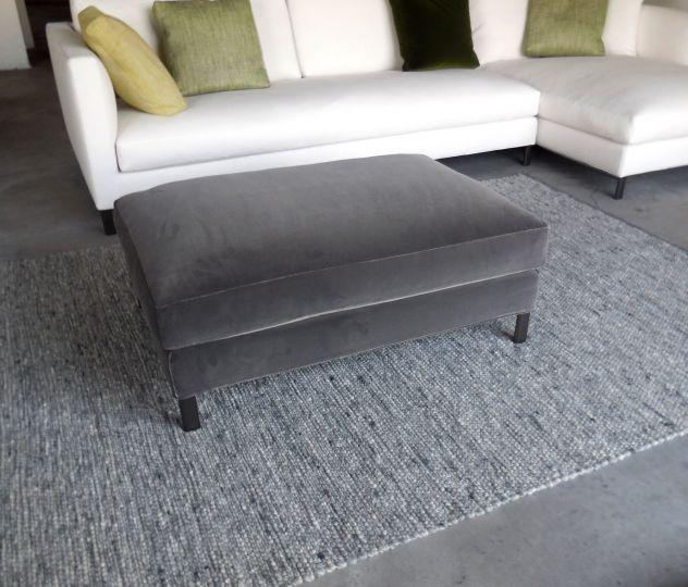 Pouff rettangolare per divano VERZELLONI ,tavolino riva lampada ...