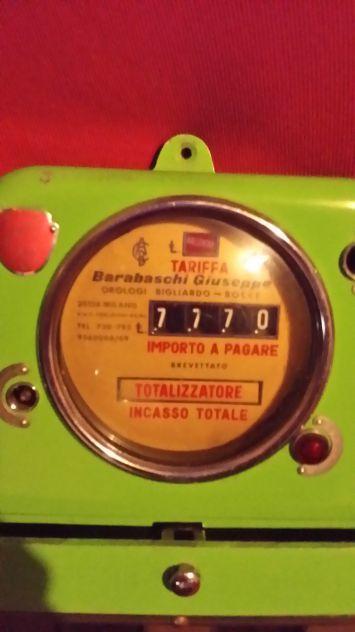 Orologio totalizzatore da biliardo metallo barabaschi
