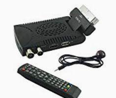 Ricevitore TV Humax Dtt Nano Mhp Dvb-T Scart  SmartCard slot