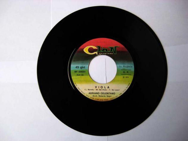 45 giri del 1970-Adriano Celentano-Viola - Foto 2