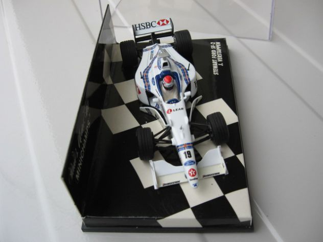 STEWART FORD SF-2 MINICHAMPS NUOVO!!!! IN SCALA 1:43