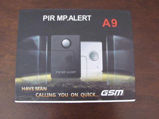 PIR MP. A9 Allarme Alert Sensor infrarossi