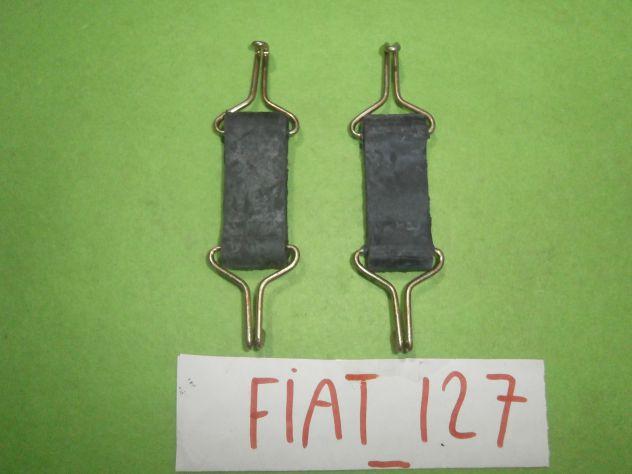 Tiranti sostegno marmitta centrale Fiat 127 1°s prima serie L C CL SPORT &q … - Foto 5
