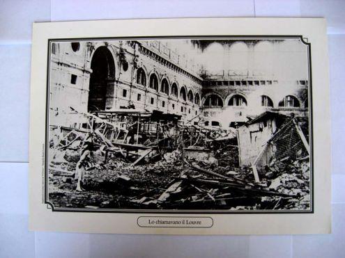 Riproduzione foto a Livorno titolo-LO CHIAMAVANO IL LOUVRE- serie - ANNI DI …
