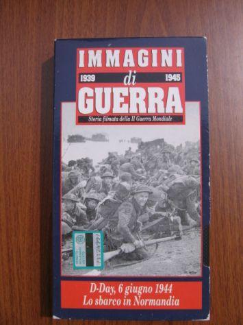 VHS IMMAGINI DI GUERRA 1939-1945 Hobby & Work