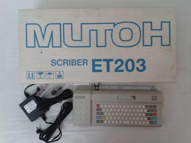 MUTOH ET203 SCRIBER - Foto 2
