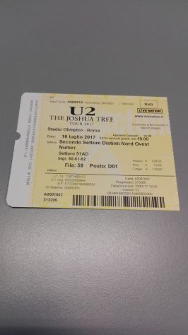 U2 Depeche Mode Pass Collezione Tour 2017 - Foto 5