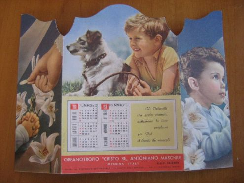 Calendario anno 1960 - Foto 3