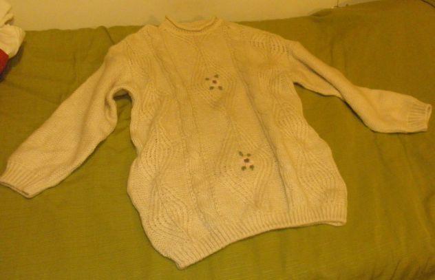 Maglione pesante lana 52