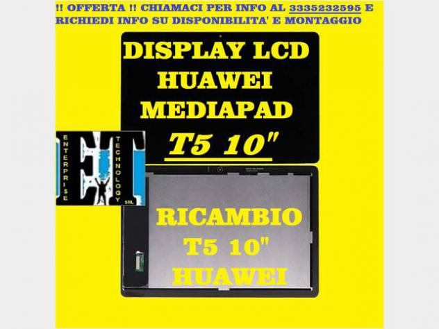 DISPLAY LCD HUAWEI T5 AGS2-L09 COMPLETO TOUCH Nuovo