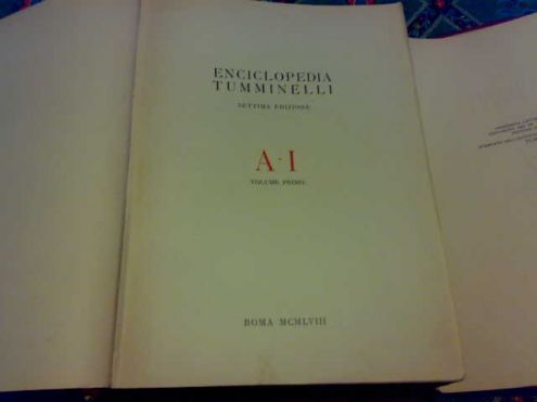 Enciclopedia tumminelli 2 volumi roma 1958 - Foto 4