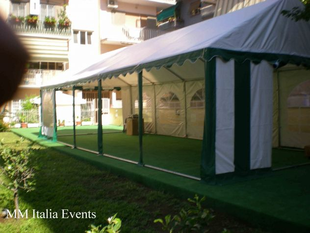 TENDONI GAZEBO 3 X 3 IN PVC GOLD QUALITY 550 GR. MQ. MM ITALIA - Foto 4