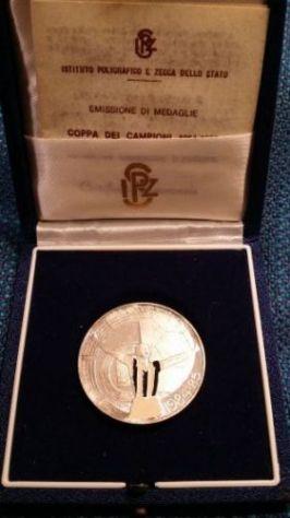 MEDAGLIA JUVENTUS COPPA CAMPIONI 1984-85