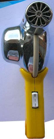 Asciugacapelli Sicer mod 25 Impugnatura in plastica e corpo in metallo. Due velo - Foto 4