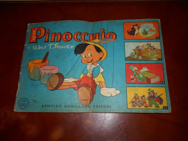 Pinocchio-Walt Disney 1950