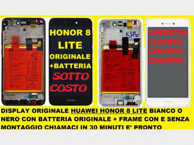 Display Honor 8 Lite + batteria originale Nuovo