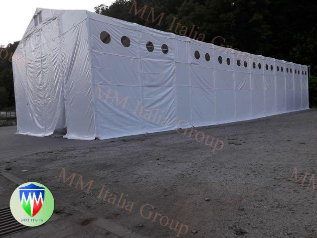 Tendostrutture 6 x 16 x 3,0 mt. telo in pvc Ignifugo certificato  a Teramo - Foto 3